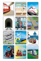 Jeu d'images-Les trains