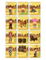 Jeu d'images-Les westerns-2