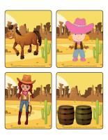 Jeu d'images-Les westerns