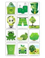 Jeu d'images-Mars en vert