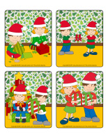 Jeu d'images-Noël-Le partage-1