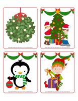 Jeu d'images-Noël-Les décorations-1