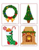 Jeu d'images-Noël-Les décorations-2