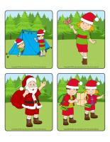Jeu d'images-Noël des campeurs-1