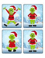 Jeu d'images-Noël-heureux ou grincheux