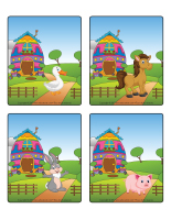 Jeu d'images-Pâques-La ferme-2