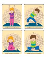 Jeu d'images-Postures de yoga-1