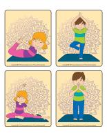 Jeu d'images-Postures de yoga-2