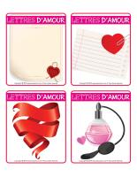 Jeu d'images-Saint-Valentin-Lettres d'amour-1