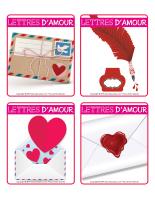 Jeu d'images-Saint-Valentin-Lettres d'amour-2