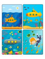 Jeu d'images-Sous-marins-1