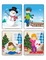 Jeu d'images-Vacances de Noel-1