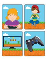 Jeu d'images-les jeux électroniques-1