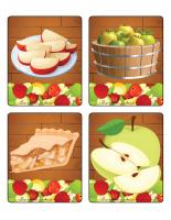 Jeu d'images-les pommes-1