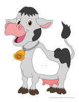 Jeu de l'âne-Les vaches