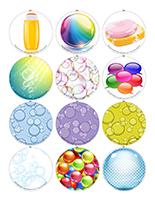 Jeu de mémoire magnétique-Les bulles