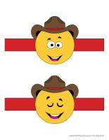 Jeu de quilles-Cowboys