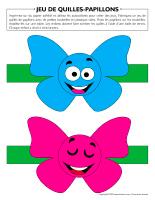 Jeu de quilles-Papillons