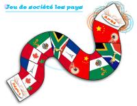 Jeu de société les pays