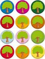 Jeu des places - Les arbres