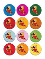 Jeu des places-Les perroquets