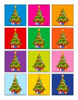 Jeu des places-Sapin de Noël