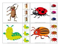 Jeu-éduc épingle-Insectes