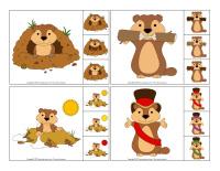 Jeu éduc-épingle-Jour de la marmotte