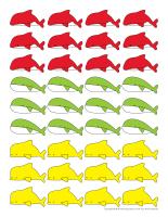 Jeux de classement-Les baleines