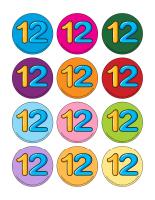 Jeux de transition-Le nombre 12