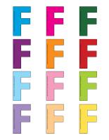 Jeux de transition-Lettre F