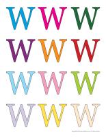 Jeux de transition-Lettre W-1