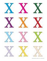 Jeux de transition-Lettre X