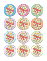 Jeux de transition-Paques-Les tons pastel