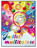 Juillet multicolore