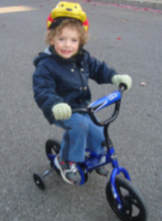 L'apprentissage du vélo