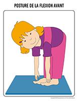 La posture de la flexion avant