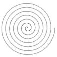 La spirale de papier