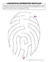 Labyrinthe-Empreintes digitales