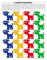 Laisses colorées