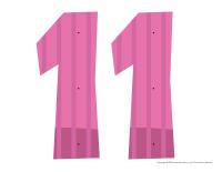 Le nombre 11 à enfiler