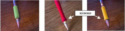 Les adaptateurs de crayon - ergothérapie - 1