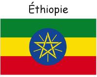 Les drapeaux de-L'Afrique