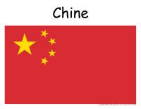 Les drapeaux de L'Asie