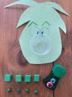 Les monstres mangeurs de bonbons pour travailler divers concepts-6