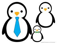 Les pingouins se collent