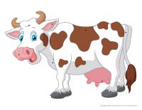 Les vaches à enfiler