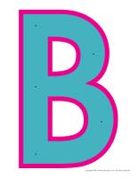Lettre B à enfiler-1