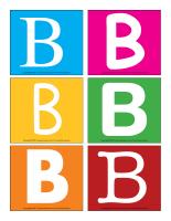 Lettre B en couleurs-1