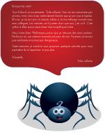 Lettre-thématique - Les araignées